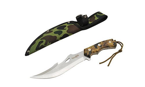 Tactical Hunting Survival Knife Skinner Bowie Fixed Blade